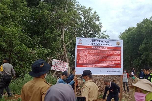 Menanti Babak Baru Kasus Perusakan Kawasan Hutan Mangrove Makassar